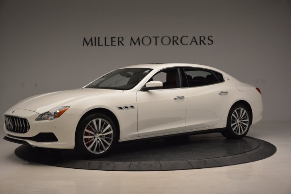 New 2017 Maserati Quattroporte S Q4 for sale Sold at Rolls-Royce Motor Cars Greenwich in Greenwich CT 06830 2