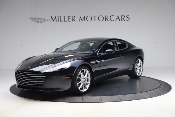 Used 2016 Aston Martin Rapide S Sedan for sale $123,900 at Rolls-Royce Motor Cars Greenwich in Greenwich CT 06830 1