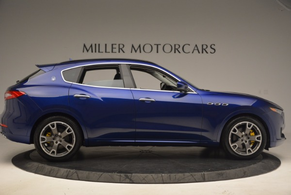 Used 2017 Maserati Levante for sale Sold at Rolls-Royce Motor Cars Greenwich in Greenwich CT 06830 9