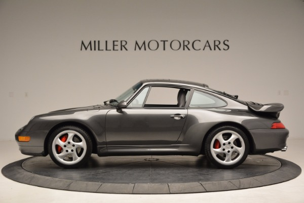 Used 1996 Porsche 911 Turbo for sale Sold at Rolls-Royce Motor Cars Greenwich in Greenwich CT 06830 3