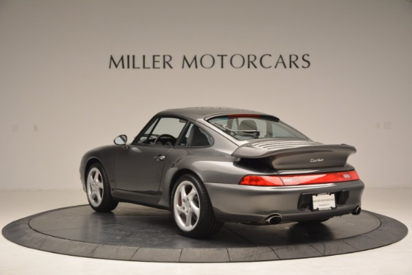 Used 1996 Porsche 911 Turbo for sale Sold at Rolls-Royce Motor Cars Greenwich in Greenwich CT 06830 5
