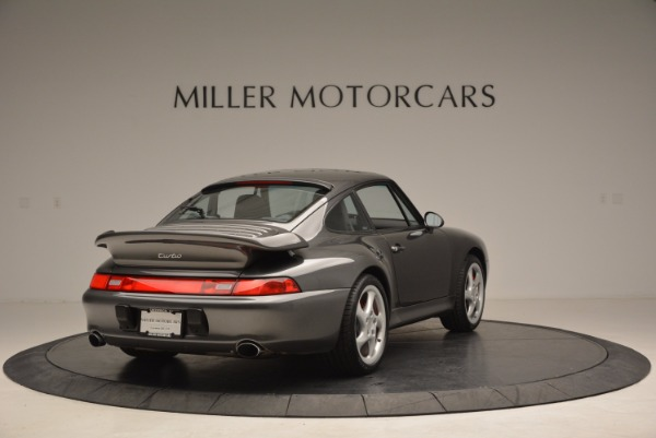 Used 1996 Porsche 911 Turbo for sale Sold at Rolls-Royce Motor Cars Greenwich in Greenwich CT 06830 7