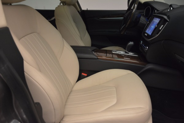 Used 2015 Maserati Ghibli S Q4 for sale Sold at Rolls-Royce Motor Cars Greenwich in Greenwich CT 06830 20