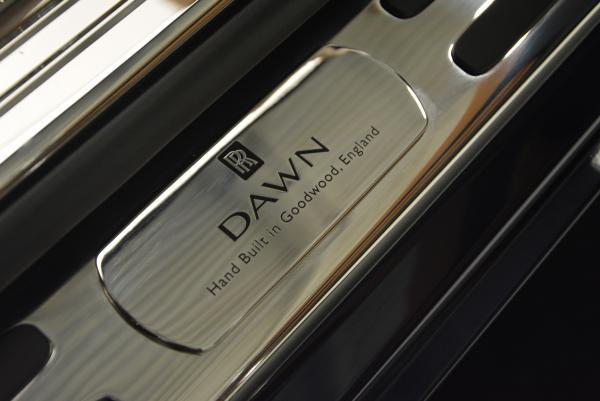 New 2016 Rolls-Royce Dawn for sale Sold at Rolls-Royce Motor Cars Greenwich in Greenwich CT 06830 20
