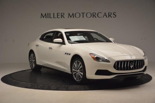 Used 2017 Maserati Quattroporte SQ4 for sale $53,900 at Rolls-Royce Motor Cars Greenwich in Greenwich CT 06830 11