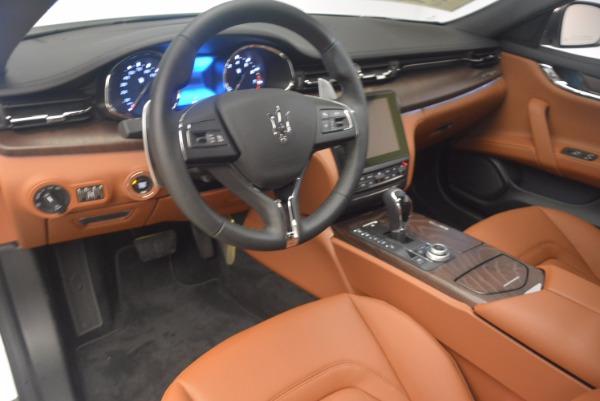 Used 2017 Maserati Quattroporte SQ4 for sale $53,900 at Rolls-Royce Motor Cars Greenwich in Greenwich CT 06830 13