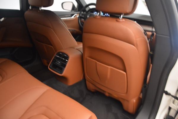 Used 2017 Maserati Quattroporte SQ4 for sale $53,900 at Rolls-Royce Motor Cars Greenwich in Greenwich CT 06830 19