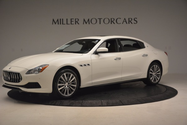 Used 2017 Maserati Quattroporte SQ4 for sale $53,900 at Rolls-Royce Motor Cars Greenwich in Greenwich CT 06830 2