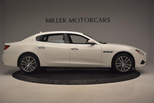 Used 2017 Maserati Quattroporte SQ4 for sale $53,900 at Rolls-Royce Motor Cars Greenwich in Greenwich CT 06830 9