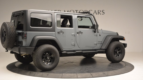 Used 2014 Jeep Wrangler Unlimited Sport for sale Sold at Rolls-Royce Motor Cars Greenwich in Greenwich CT 06830 10