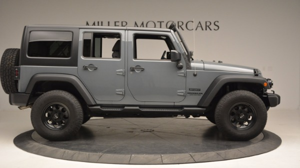 Used 2014 Jeep Wrangler Unlimited Sport for sale Sold at Rolls-Royce Motor Cars Greenwich in Greenwich CT 06830 11
