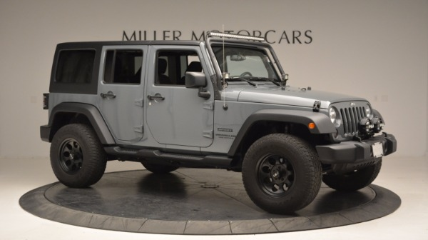 Used 2014 Jeep Wrangler Unlimited Sport for sale Sold at Rolls-Royce Motor Cars Greenwich in Greenwich CT 06830 12