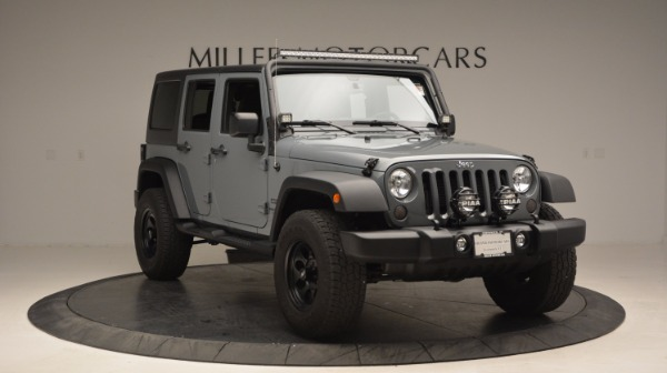 Used 2014 Jeep Wrangler Unlimited Sport for sale Sold at Rolls-Royce Motor Cars Greenwich in Greenwich CT 06830 13