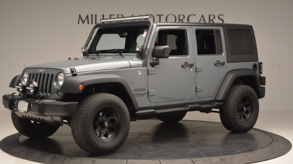Used 2014 Jeep Wrangler Unlimited Sport for sale Sold at Rolls-Royce Motor Cars Greenwich in Greenwich CT 06830 2