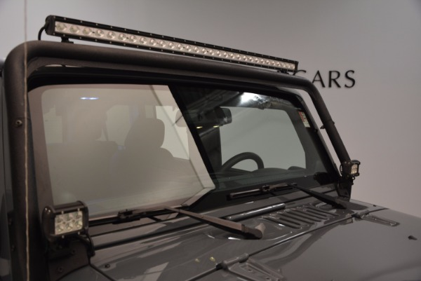 Used 2014 Jeep Wrangler Unlimited Sport for sale Sold at Rolls-Royce Motor Cars Greenwich in Greenwich CT 06830 27