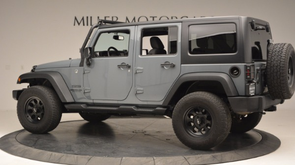 Used 2014 Jeep Wrangler Unlimited Sport for sale Sold at Rolls-Royce Motor Cars Greenwich in Greenwich CT 06830 4