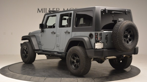 Used 2014 Jeep Wrangler Unlimited Sport for sale Sold at Rolls-Royce Motor Cars Greenwich in Greenwich CT 06830 5