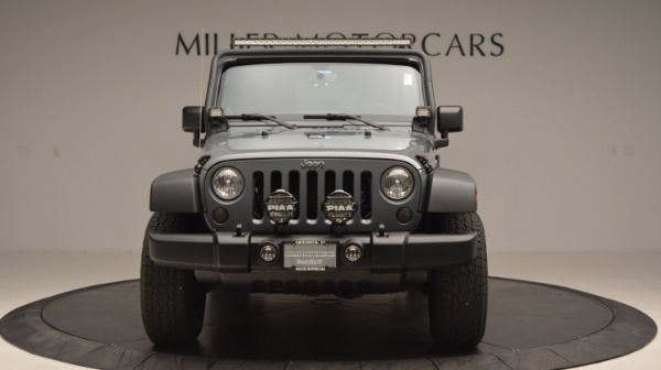 Used 2014 Jeep Wrangler Unlimited Sport for sale Sold at Rolls-Royce Motor Cars Greenwich in Greenwich CT 06830 6