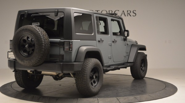 Used 2014 Jeep Wrangler Unlimited Sport for sale Sold at Rolls-Royce Motor Cars Greenwich in Greenwich CT 06830 8