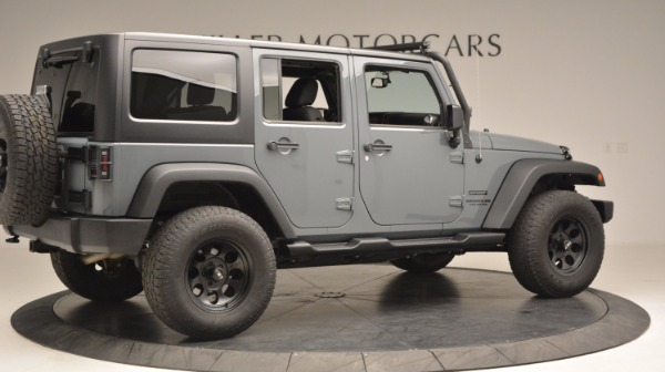 Used 2014 Jeep Wrangler Unlimited Sport for sale Sold at Rolls-Royce Motor Cars Greenwich in Greenwich CT 06830 9