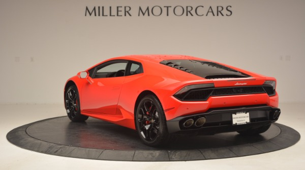 Used 2016 Lamborghini Huracan LP 580-2 for sale Sold at Rolls-Royce Motor Cars Greenwich in Greenwich CT 06830 5