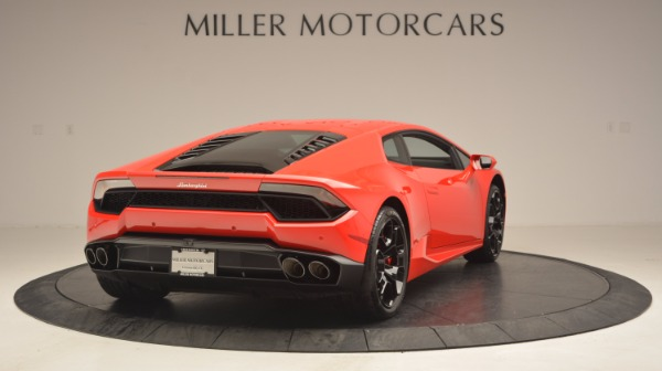 Used 2016 Lamborghini Huracan LP 580-2 for sale Sold at Rolls-Royce Motor Cars Greenwich in Greenwich CT 06830 7