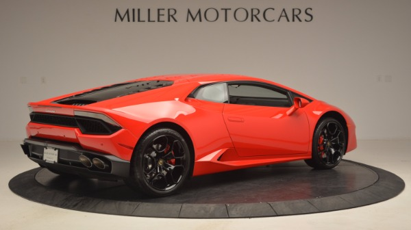 Used 2016 Lamborghini Huracan LP 580-2 for sale Sold at Rolls-Royce Motor Cars Greenwich in Greenwich CT 06830 8