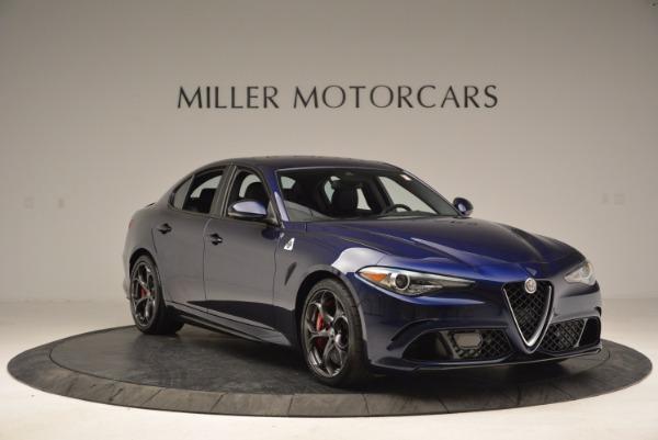 New 2017 Alfa Romeo Giulia Quadrifoglio for sale Sold at Rolls-Royce Motor Cars Greenwich in Greenwich CT 06830 11