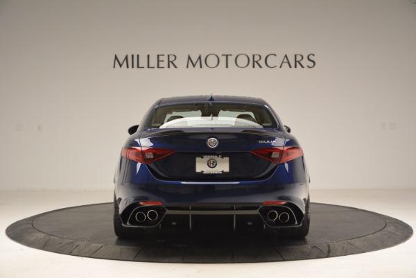 New 2017 Alfa Romeo Giulia Quadrifoglio for sale Sold at Rolls-Royce Motor Cars Greenwich in Greenwich CT 06830 6