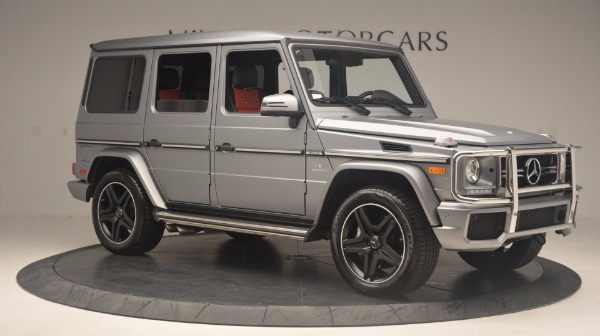 Used 2016 Mercedes Benz G-Class G 63 AMG for sale Sold at Rolls-Royce Motor Cars Greenwich in Greenwich CT 06830 10