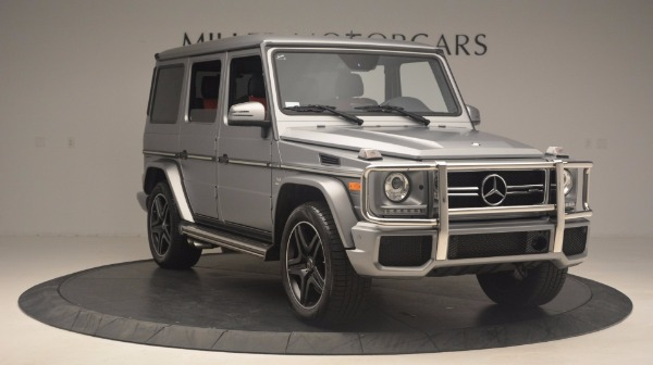 Used 2016 Mercedes Benz G-Class G 63 AMG for sale Sold at Rolls-Royce Motor Cars Greenwich in Greenwich CT 06830 11