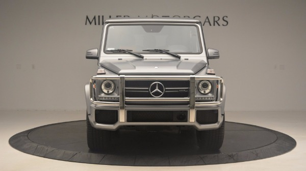 Used 2016 Mercedes Benz G-Class G 63 AMG for sale Sold at Rolls-Royce Motor Cars Greenwich in Greenwich CT 06830 12