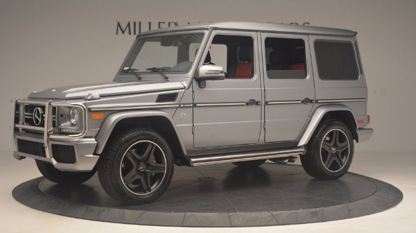 Used 2016 Mercedes Benz G-Class G 63 AMG for sale Sold at Rolls-Royce Motor Cars Greenwich in Greenwich CT 06830 2