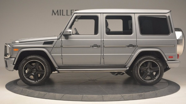 Used 2016 Mercedes Benz G-Class G 63 AMG for sale Sold at Rolls-Royce Motor Cars Greenwich in Greenwich CT 06830 3