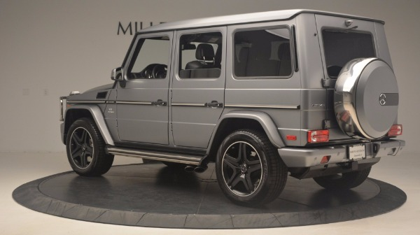Used 2016 Mercedes Benz G-Class G 63 AMG for sale Sold at Rolls-Royce Motor Cars Greenwich in Greenwich CT 06830 4