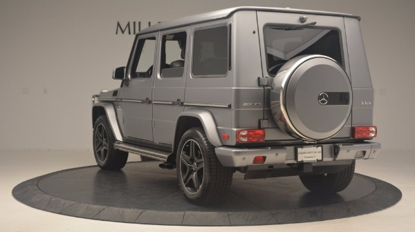 Used 2016 Mercedes Benz G-Class G 63 AMG for sale Sold at Rolls-Royce Motor Cars Greenwich in Greenwich CT 06830 5