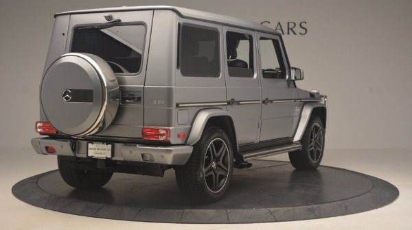 Used 2016 Mercedes Benz G-Class G 63 AMG for sale Sold at Rolls-Royce Motor Cars Greenwich in Greenwich CT 06830 7