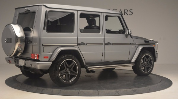 Used 2016 Mercedes Benz G-Class G 63 AMG for sale Sold at Rolls-Royce Motor Cars Greenwich in Greenwich CT 06830 8