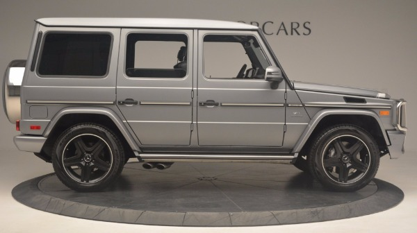Used 2016 Mercedes Benz G-Class G 63 AMG for sale Sold at Rolls-Royce Motor Cars Greenwich in Greenwich CT 06830 9