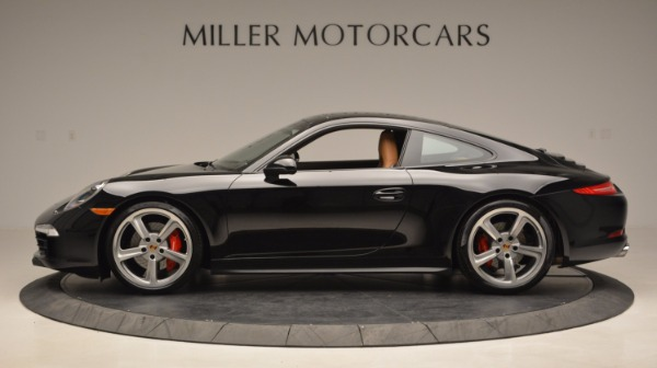 Used 2014 Porsche 911 Carrera 4S for sale Sold at Rolls-Royce Motor Cars Greenwich in Greenwich CT 06830 3
