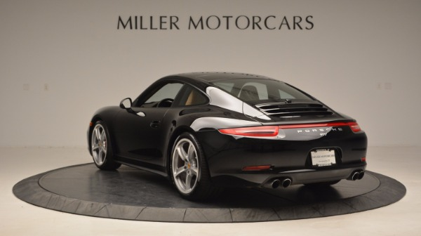 Used 2014 Porsche 911 Carrera 4S for sale Sold at Rolls-Royce Motor Cars Greenwich in Greenwich CT 06830 5