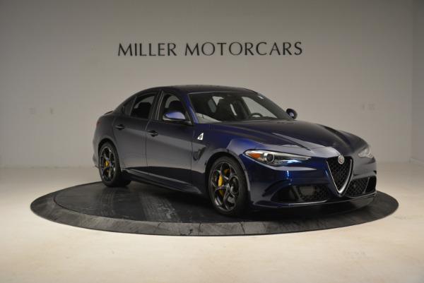Used 2017 Alfa Romeo Giulia Quadrifoglio for sale Sold at Rolls-Royce Motor Cars Greenwich in Greenwich CT 06830 11