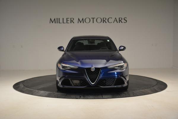 Used 2017 Alfa Romeo Giulia Quadrifoglio for sale Sold at Rolls-Royce Motor Cars Greenwich in Greenwich CT 06830 12