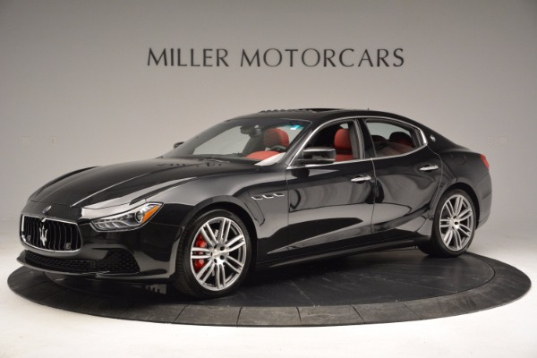 New 2017 Maserati Ghibli SQ4 for sale Sold at Rolls-Royce Motor Cars Greenwich in Greenwich CT 06830 17