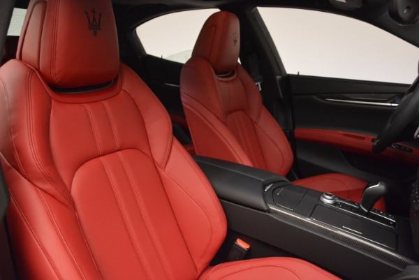 New 2017 Maserati Ghibli SQ4 for sale Sold at Rolls-Royce Motor Cars Greenwich in Greenwich CT 06830 28