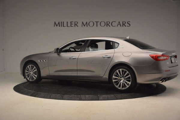 New 2017 Maserati Quattroporte SQ4 for sale Sold at Rolls-Royce Motor Cars Greenwich in Greenwich CT 06830 4