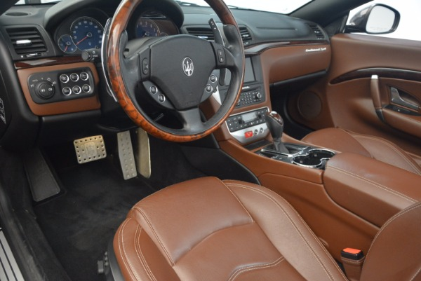 Used 2012 Maserati GranTurismo Sport for sale Sold at Rolls-Royce Motor Cars Greenwich in Greenwich CT 06830 21