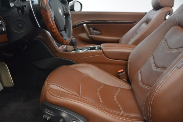 Used 2012 Maserati GranTurismo Sport for sale Sold at Rolls-Royce Motor Cars Greenwich in Greenwich CT 06830 22
