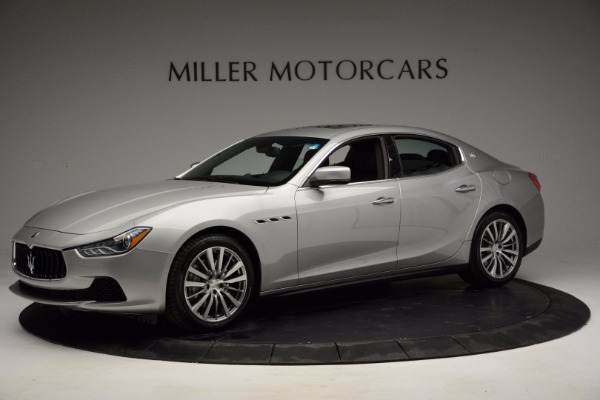 Used 2014 Maserati Ghibli for sale Sold at Rolls-Royce Motor Cars Greenwich in Greenwich CT 06830 1