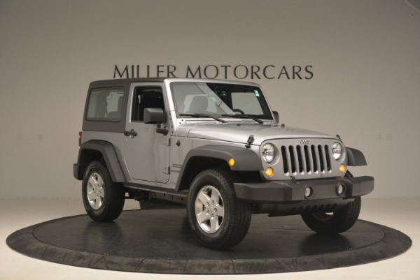 Used 2015 Jeep Wrangler Sport for sale Sold at Rolls-Royce Motor Cars Greenwich in Greenwich CT 06830 11